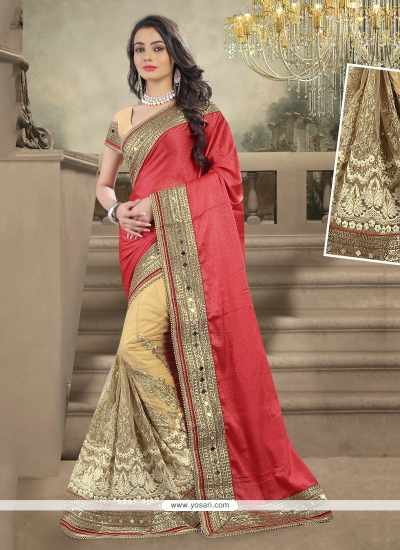 Buy Sophisticated Embroidered Work Designer Saree Online ...
