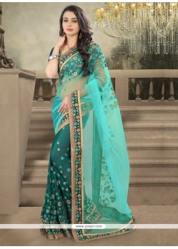 Integral Georgette Designer Saree