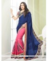 Adorable Georgette Embroidered Work Classic Designer Saree