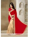 Intrinsic Patch Border Work Classic Saree