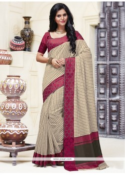 Irresistible Patch Border Work Designer Saree