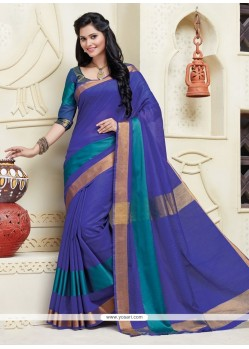 Ideal Blue Designer Saree