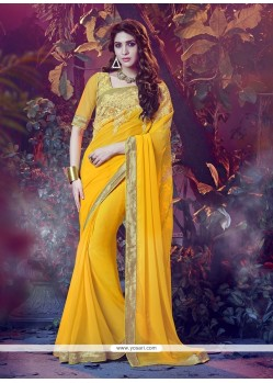 Customary Designer Saree For Festival