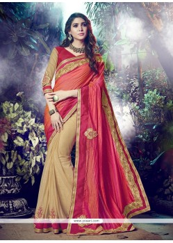 Engrossing Embroidered Work Lycra Designer Saree