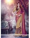 Catchy Embroidered Work Silk Designer Saree