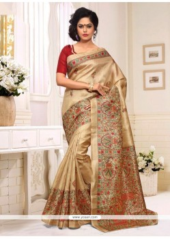 Resplendent Silk Multi Colour Casual Saree