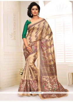 Elegant Silk Casual Saree