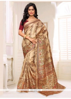 Pristine Multi Colour Casual Saree