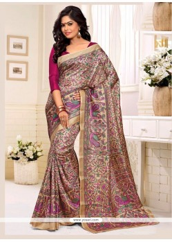 Delightsome Multi Colour Casual Saree