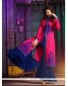 Tempting Silk Designer Palazzo Salwar Kameez