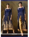 Orphic Navy Blue Designer Salwar Suit