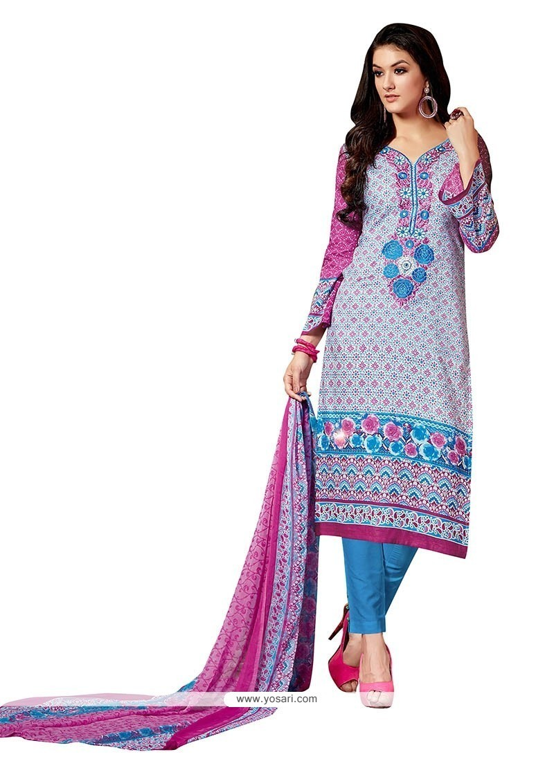 Stunning Multi Colour Fancy Fabric Pant Style Suit