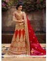 Arresting A Line Lehenga Choli For Bridal