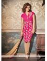 Priyanka Chopra Resham Work Georgette Churidar Designer Suit