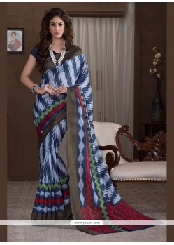 Piquant Handloom Silk Printed Saree