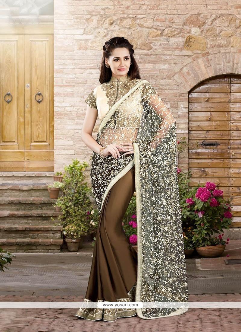 Adorable Designer Saree For Wedding