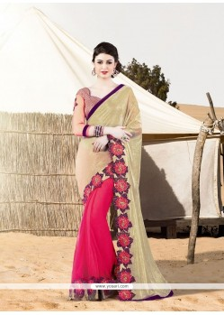 Modern Embroidered Work Designer Saree