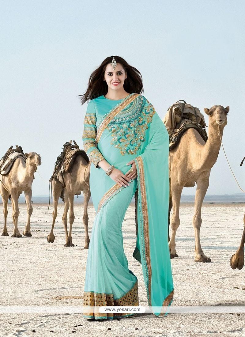 Immaculate Net Designer Saree