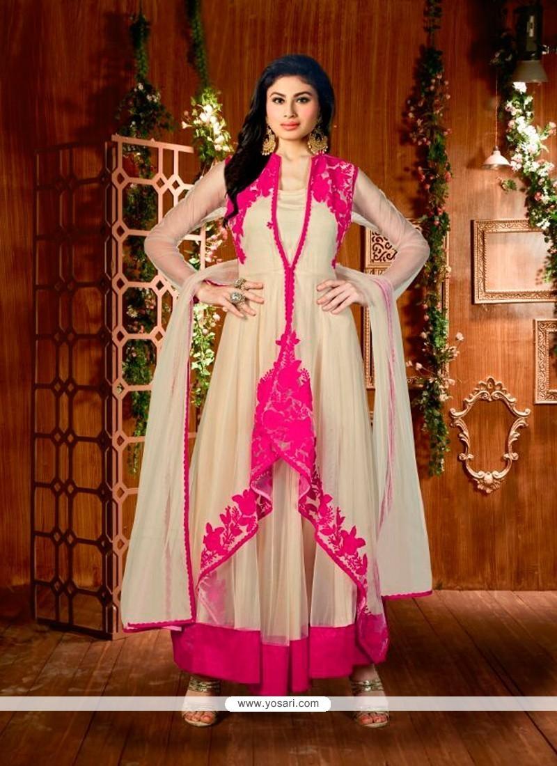 Impeccable Beige Designer Suit