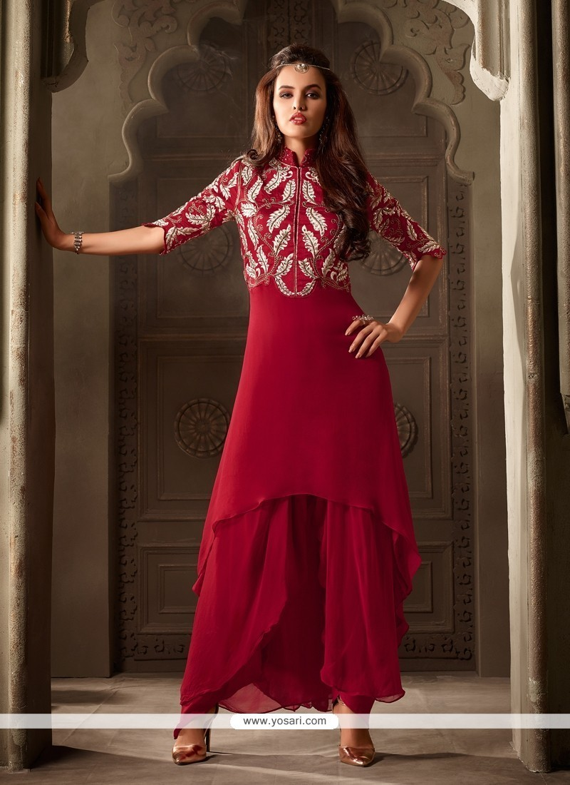 5e62c64946 Buy Divine Georgette Punjabi Suit Online : New Zealand