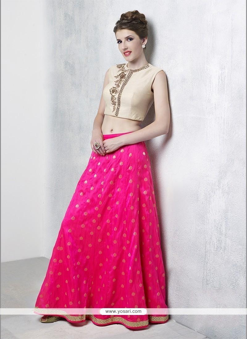 Sorcerous Hot Pink Designer Lehenga Choli