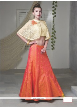 Baronial Raw Silk Embroidered Work Designer Lehenga Choli
