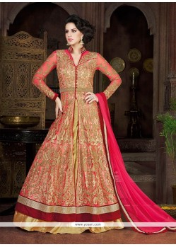 Flawless Net Resham Work A Line Lehenga Choli