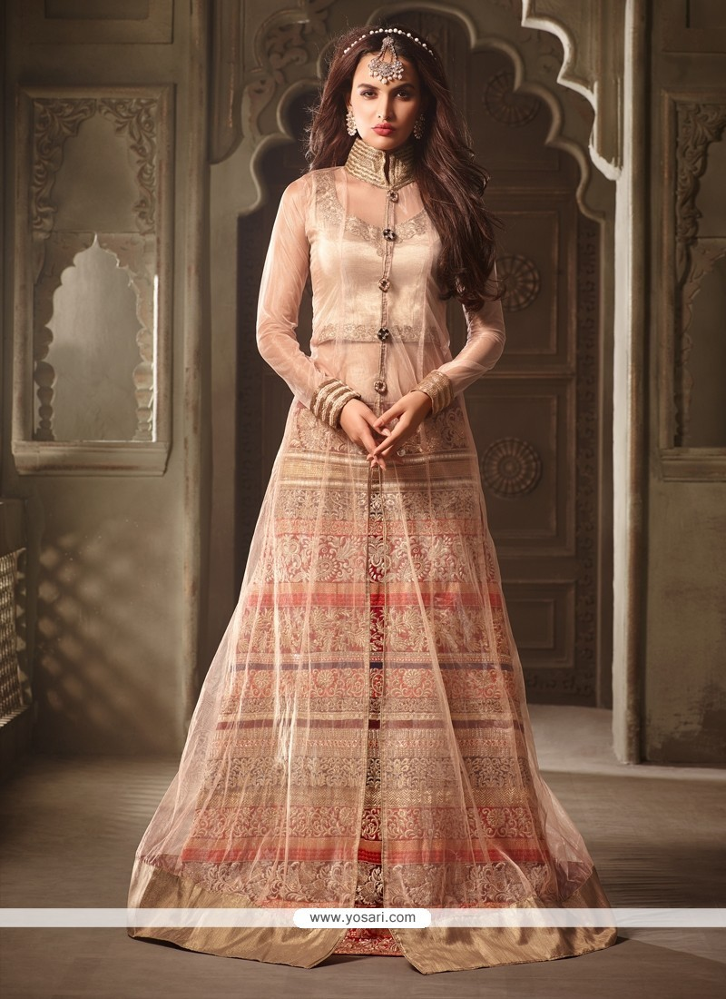 Especial Embroidered Work Net Designer Lehenga Choli