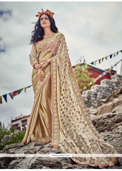 Dainty Patch Border Work Classic Designer Saree