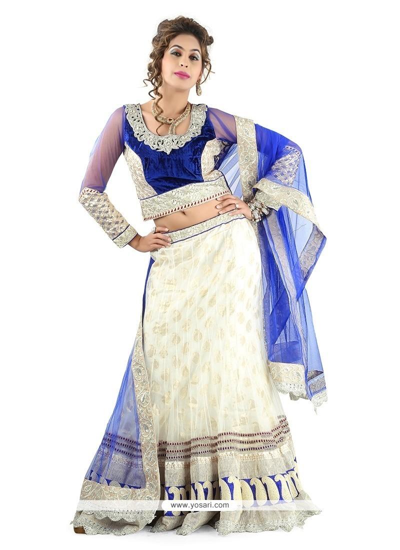 Vivid A Line Lehenga Choli For Wedding