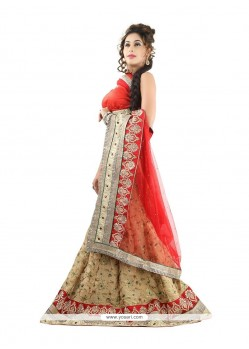 Chic Patch Border Work Jacquard Designer Lehenga Choli