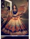 Dazzling Banglori Silk Multi Colour Designer Lehenga Choli