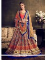 Princely Banglori Silk Multi Colour A Line Lehenga Choli