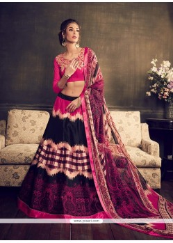 Sunshine Banglori Silk Multi Colour A Line Lehenga Choli