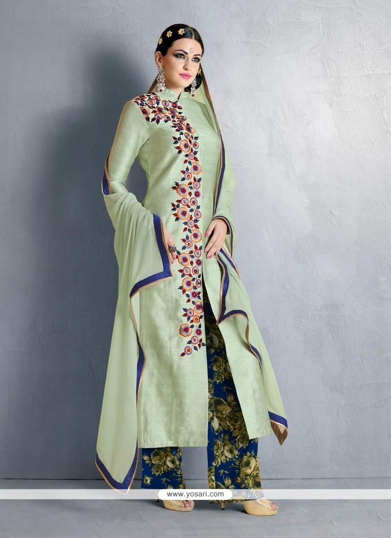 Orphic Resham Work Designer Palazzo Salwar Suit