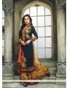 Intrinsic Georgette Multi Colour Digital Print Work Designer Palazzo Salwar Kameez