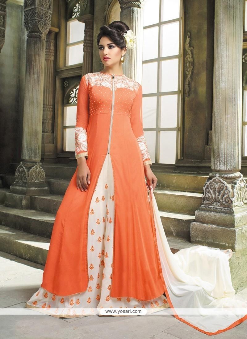 Fetching Georgette Designer Palazzo Salwar Kameez
