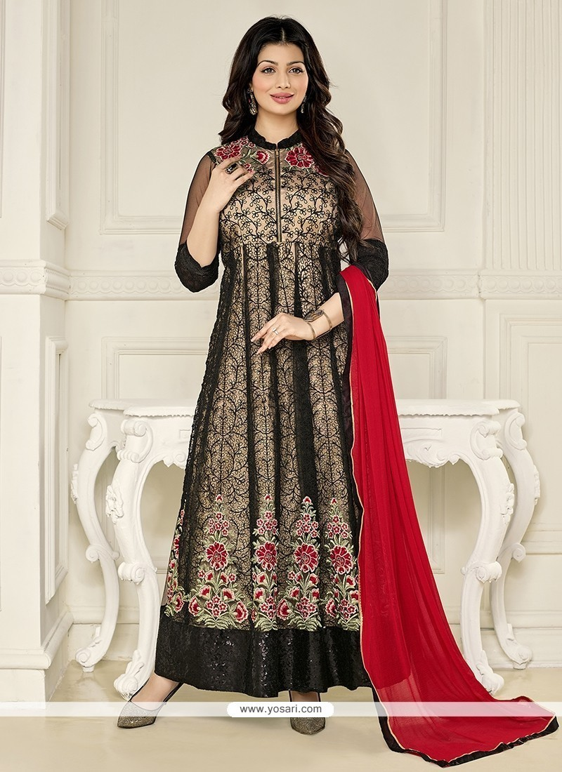 Ayesha Takia Embroidered Work Anarkali Salwar Kameez