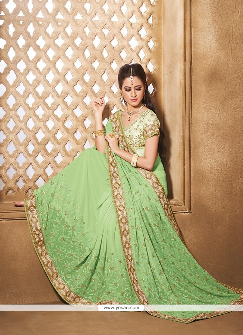 Lovely Georgette Saree