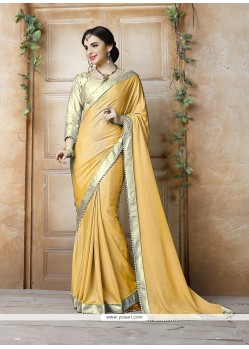 Vivid Patch Border Work Classic Saree