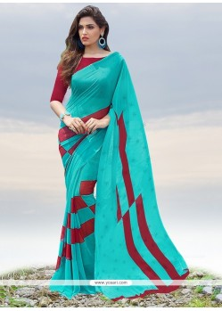 Prime Georgette Printed Saree