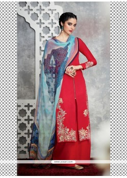 Specialised Embroidered Work Designer Palazzo Salwar Kameez