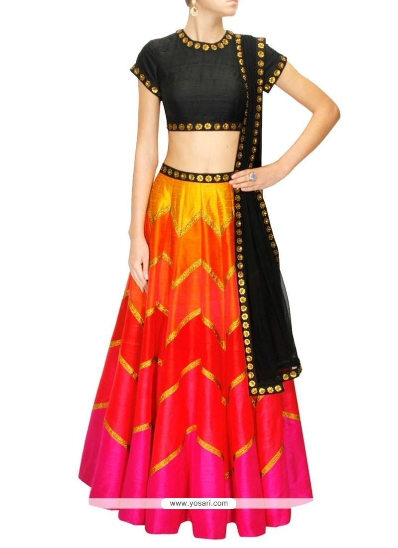 Delightsome Raw Silk Designer Lehenga Choli