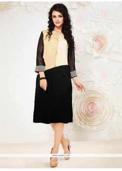 Simplistic Georgette Party Wear Kurti