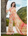 Enthralling Patch Border Work Casual Saree