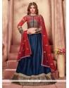 Glamorous Fancy Fabric Patch Border Work Designer A Line Lehenga Choli