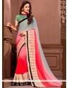 Majestic Embroidered Work Designer Saree