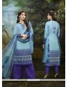 Heavenly Multi Colour Churidar Designer Suit