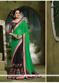 Arresting Net Designer Saree