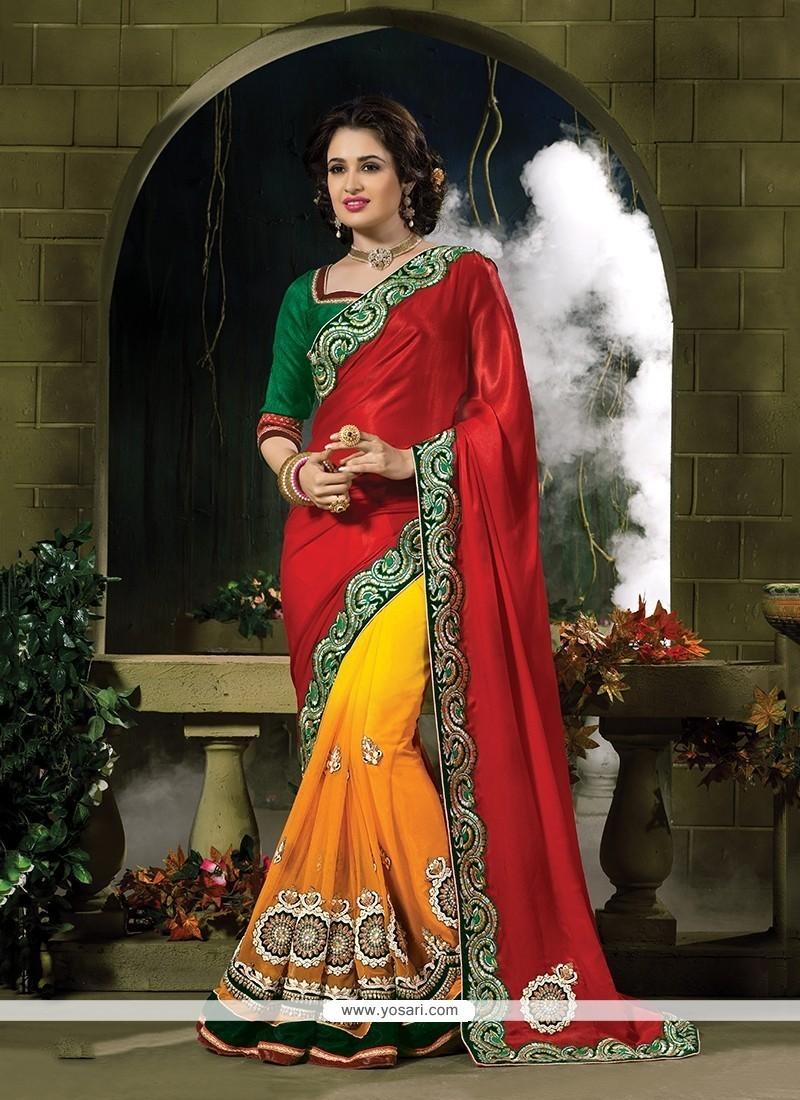 Nice Georgette Classic Designer Saree